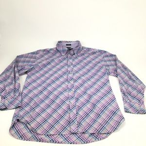 Tommy Hilfiger 80's 2 ply fabric button down shirt
